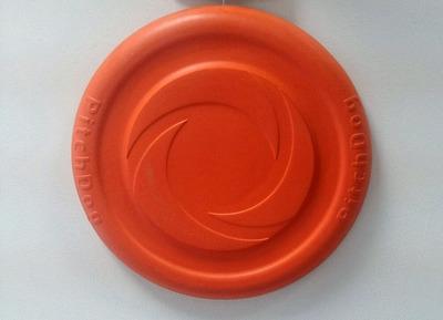 Collar PitchDog летающая тарелка для апортировки, диаметр 22 см, оранжевая