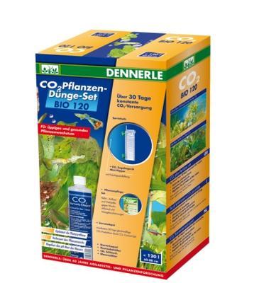 Dennerle CO2 Pflanzen-Dunge-Set BIO 120 комплект для удобрения растений