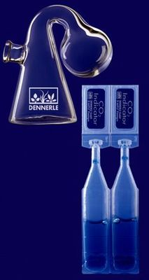 Dennerle Langzeittest Maxi - длительный тест СО2 для систем Crystal-Line , 2986