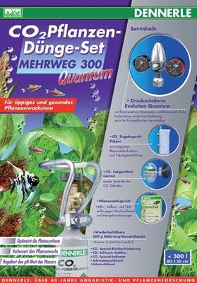 Dennerle Mehrweg 300 Quantum комплект для удобрения растений