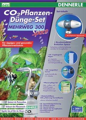 Dennerle Mehrweg 300 Space комплект для удобрения растений