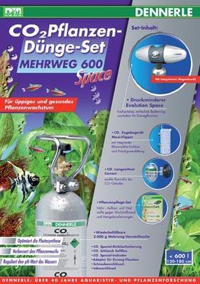 Dennerle Mehrweg 600 Space комплект для удобрения растений