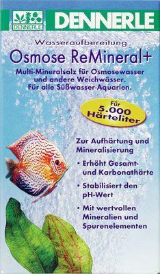 """Dennerle Osmose ReMineral+  мультиминеральная соль для """"осмосной"""" воды и другой мягкой воды"""