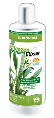 Dennerle Plant Elixir - универсальное удобрение для всех аквариумных растений, 500 мл, 4540
