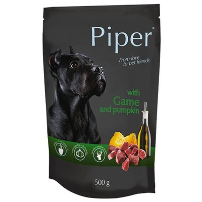 Dolina Noteci Piper - пауч для собак с дичью и тыквой 500 г