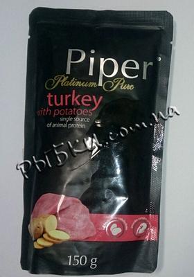 Dolina Noteci Piper Platinum - консервы для собак с индейкой и картофелем 150 г