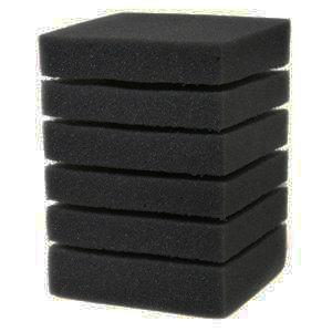 Фильтрующая губка Resun квадратная 10x10x15, 35ppi