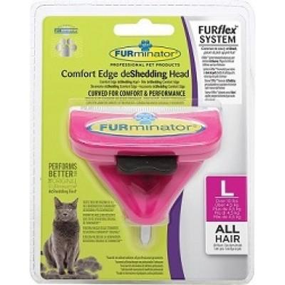 Furminator FURflex L насадка против линьки у котов более 4,5 кг