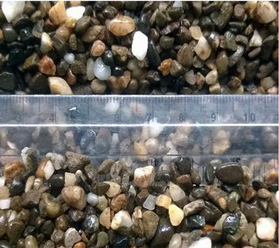 Галька речная Aquarium Plus грунт для аквариума 2-5 мм 1 кг