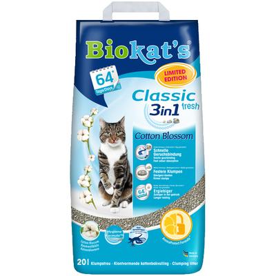 Gimborn Biokats Classic - наполнитель для туалетов бетонитовый, 10л