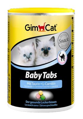 Gimcat Baby-Tabs - для укреплния иммунитета и здорового развития котят, 250 таб