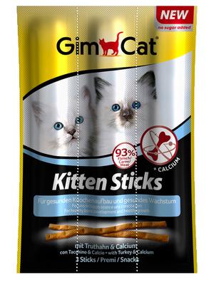 Gimcat (Gimpet) - мясные палочки для котят 3шт