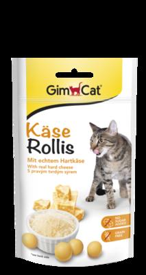 GimCat Kasse Rolls 40 г лакомство для котов сырные шарики