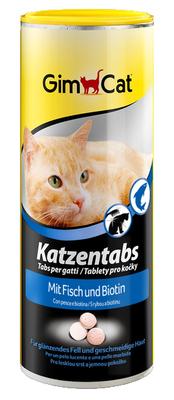 Gimcat Katzentabs - витамины с рыбой для кошек, 710 таб