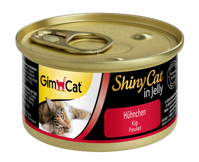 GimCat Shiny Cat консерва для котов курица, 70 гр
