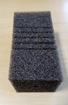 Губка квадратная крупнопористая 10х10х20 см