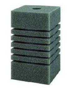 Губка квадратная мелкопористая №5, 12x12x20 см