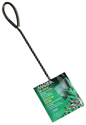 Hagen №11261 - сачок для аквариума, сетка 8 см, ручка 25 см