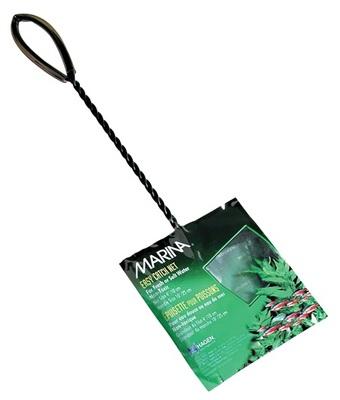 Hagen №11262 - сачок для аквариума, сетка 10 см, ручка 25 см
