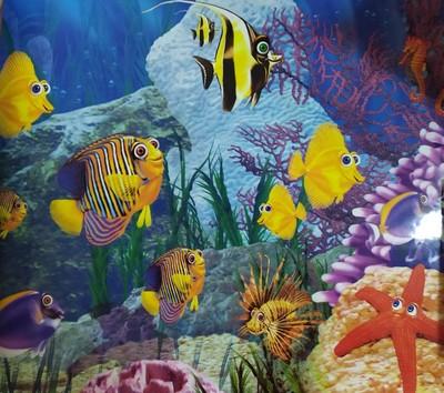 Hagen №11763 - фон для аквариума, высота 30 см