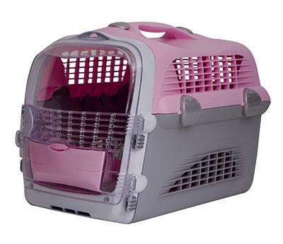 Hagen Catit Design Cabrio Cat Multi-Functional Carrier System - переноска для котов розово-серая