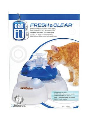 Hagen Catit Design Fresh & Clear Cat Drinking Fountain - поилка-фонтан для кошек, 50050