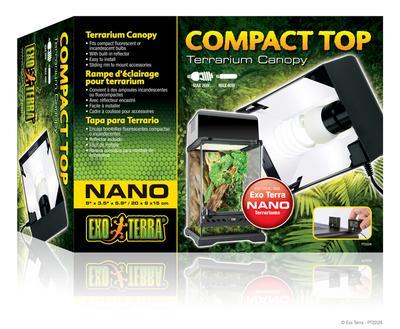 Hagen ExoTerra Compact Top Nano – светильник для террариума, PT2224