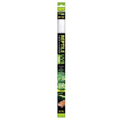 Hagen ExoTerra Reptile UVB100/Repti Glo 5.0, 15 Вт 45 см, PT-2385 - ультрафиолетовая лампа