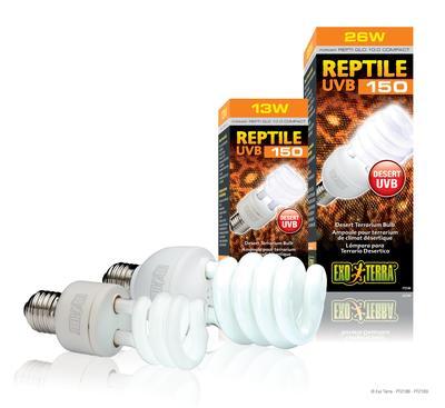 Hagen ExoTerra Reptile UVB150/Repti Glo 10.0, 26 (25) Вт, PT-2189 - ультрафиолетовая лампа