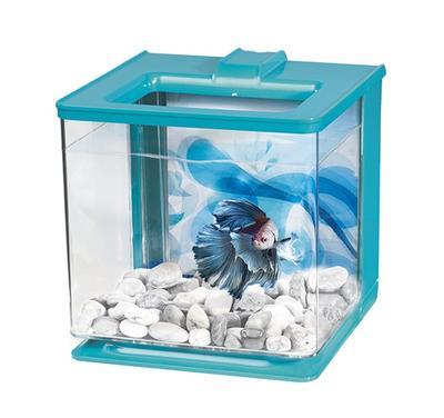Hagen Marina Betta EZ Care - аквариум для петушка голубой 2,5 л, 13359