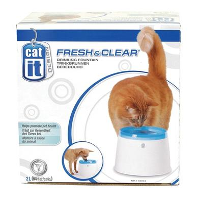 Hagen Small Cat It Fresh and Clear Cat Water Fountain - поилка-фонтан для кошек, 50053