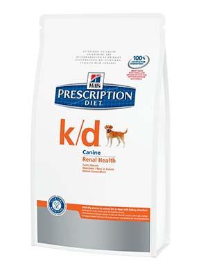 Hill's PD Canine K/D - корм для собак при почечной недостаточности 2 кг