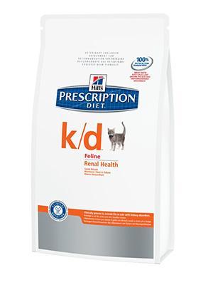 Hill's PD Feline k/d - болезни почек, сердечная недостаточность 0,4 кг