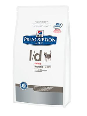 Hill's PD Feline l/d - заболевания печени 1,5 кг