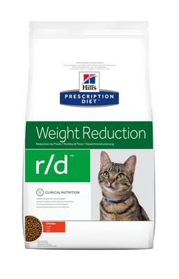 Hill's PD Feline R/D Weight Reduction корм для котов страдающих ожирением 5 кг