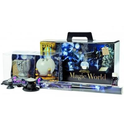 Hydor H2ShOw Kit Box Magic World набор фон 80х40, аэратор, декорации, подсветка