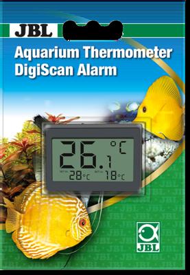 Электронный термометр для аквариума с функцией сигнала JBL Aquarium Thermometer DigiScan Alarm