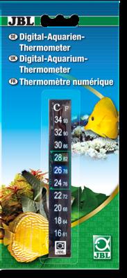 Термометр наклейка для аквариума JBL Aquarium Thermometer Digital