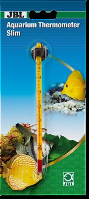 Тонкий стеклянный аквариумный термометр JBL Aquarium Thermometer Slim