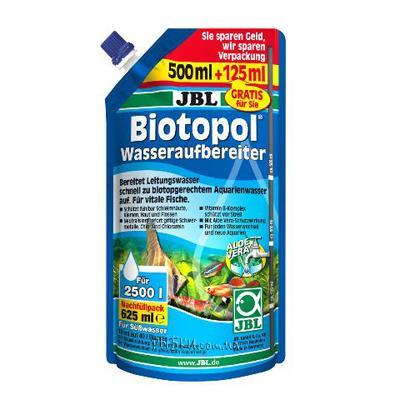 JBL Biotopol Refill Pack средство для подготовки воды в аквариуме, 625 мл на 2500 л