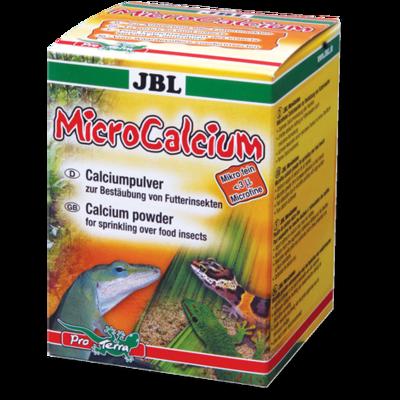 JBL MicroCalcium минеральная добавка для рептилий, 100 г