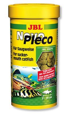 JBL Novo Pleco корм для сомов, 1 л (530 гр)