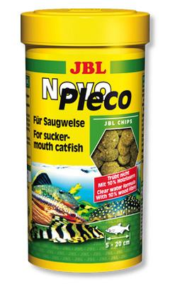 JBL Novo Pleco корм для сомов, 250 мл (133 гр)
