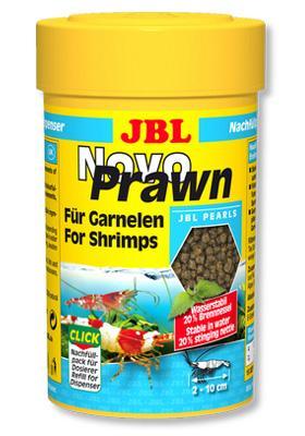 JBL Novo Prawn – корм для мелких креветок, 100 мл (58 гр), 30276