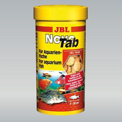 JBL Novo Tab корм для плотоядных рыб, 100 мл (60 гр)