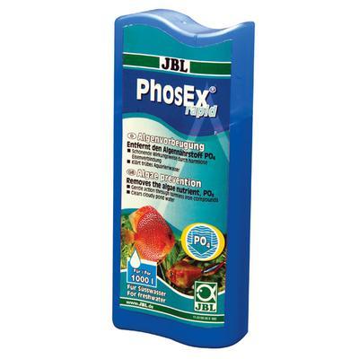 JBL PhosEx Rapid препарат для понижения уровня фосфатов в воде, 100 мл на 400 л