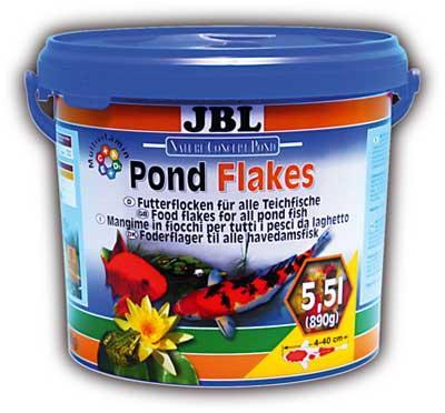JBL Pond Flakes – основной корм для прудовых рыб, 10,5 л, 40199