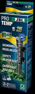 Регулируемый нагреватель для аквариума JBL ProTemp S 25 Вт с защитным кожухом