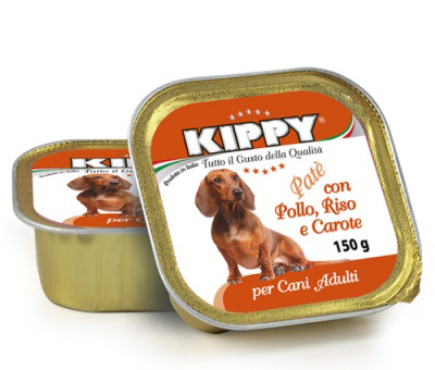 Kippy Dog курица, индейка и морковь - консерва для собак, 400 гр