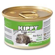 KIPPY - паштет для кошек, белое мясо 200 гр